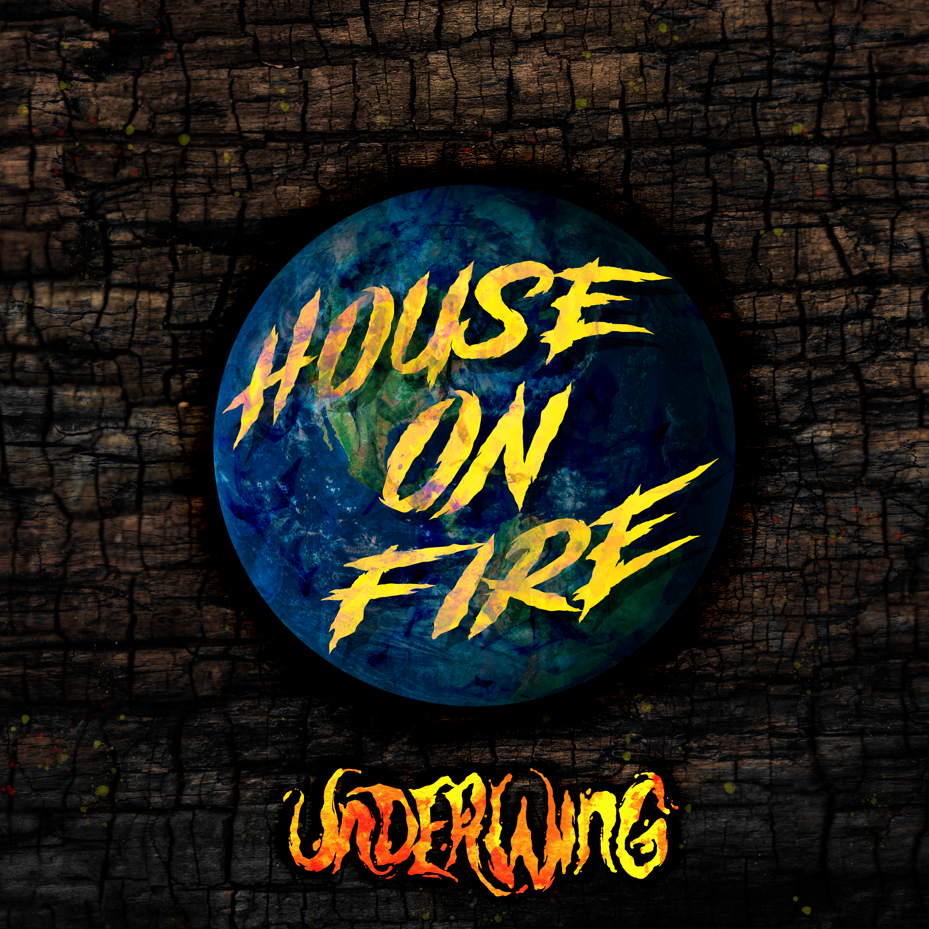 House on Fire artwork example 4